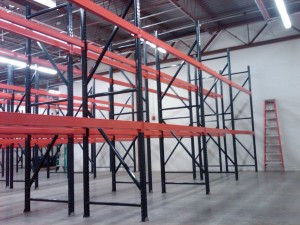 Pallet Racking Removal - Pallet Rack Uprights Austin, TX